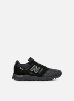New Balance - MTL575 Made In England, Black/Black Caviar/Lime