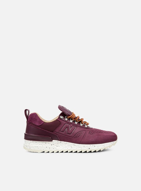 sneakers new balance trail buster burgundy