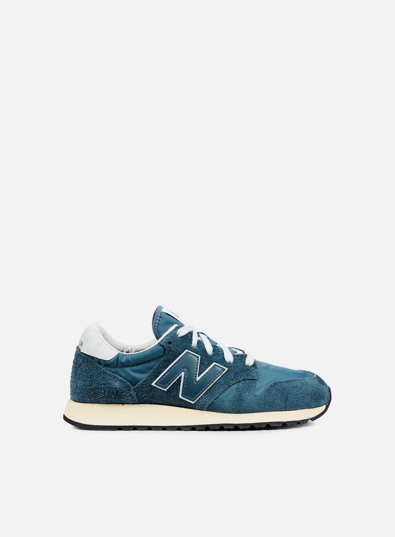 New Balance - U520 Suede Vintage, Mallard Blue