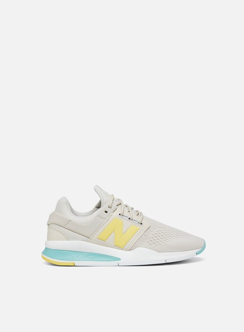 sneakers new balance wmns 247 synthetic knit textile moonbeam