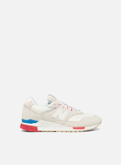 sneakers new balance wmns 840 suede mesh white
