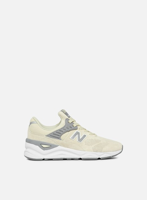 sneakers new balance wmns x 90 pigskin suede bone