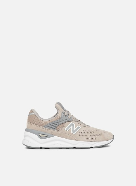 sneakers new balance wmns x 90 pigskin suede flat white