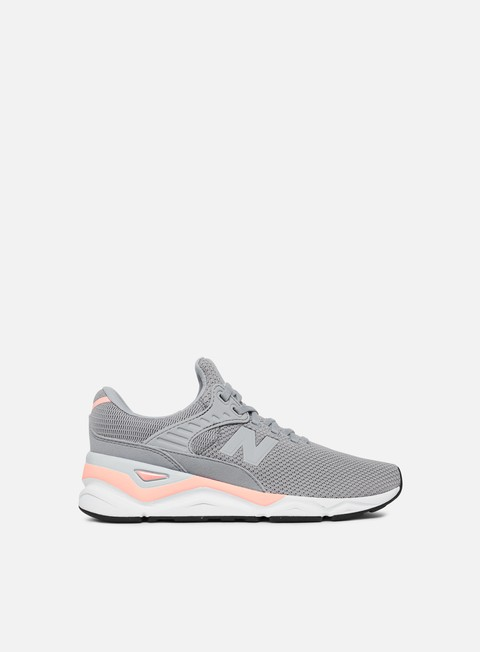 sneakers new balance wmns x 90 synthetic knit textile arctic sky