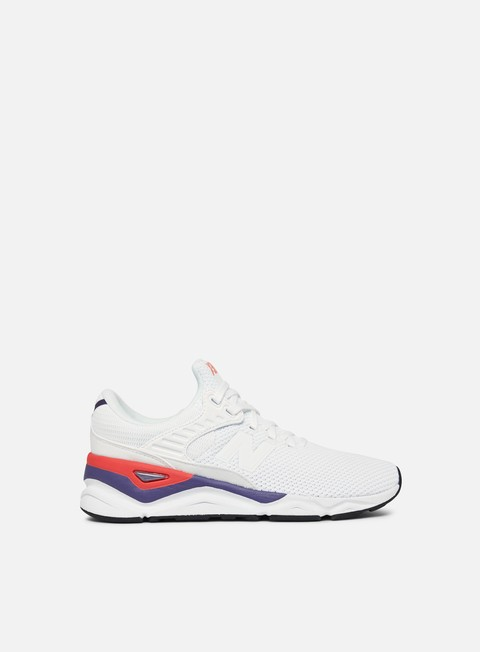 sneakers new balance wmns x 90 synthetic knit textile white