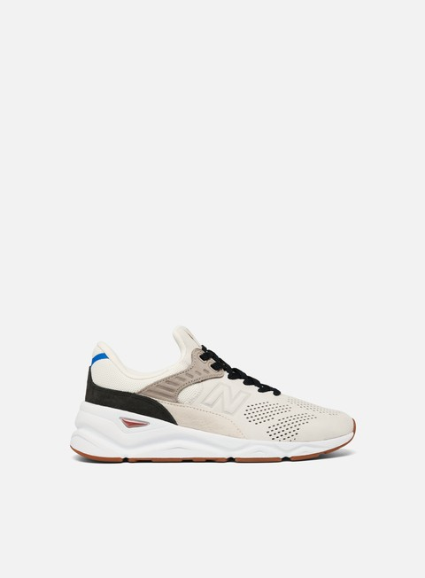 sneakers new balance x 90 nubuck suede sea salt