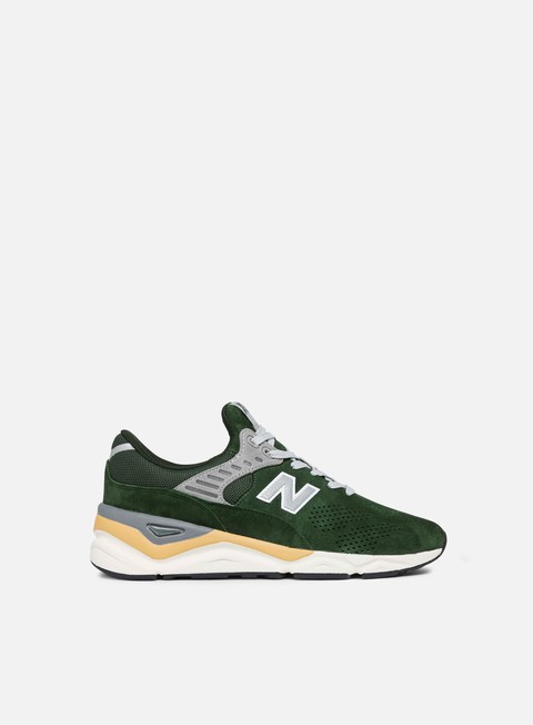 sneakers new balance x 90 pigskin suede green