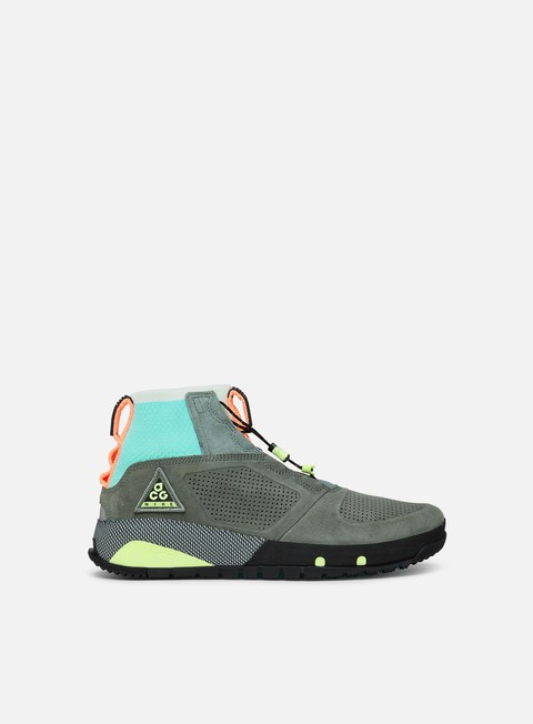 sneakers nike acg ruckle ridge multi color clay green black