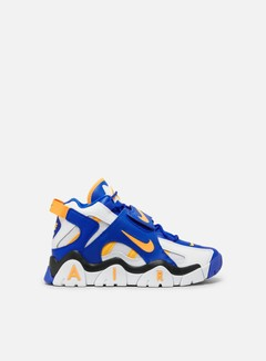 Nike - Air Barrage Mid, White/Laser Orange/Racer Blue/Black