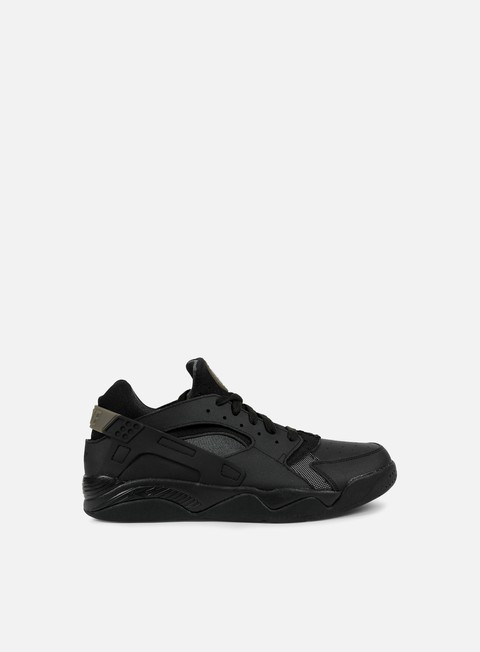 sneakers nike air flight huarache low black black anthracite