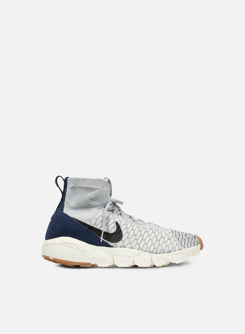 Nike - Air Footscape Magista Flyknit, Wolf Grey/Black/Sail