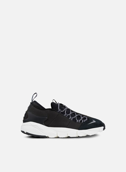 sneakers nike air footscape nm black dark grey white