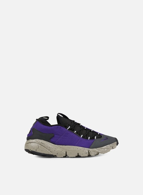 sneakers nike air footscape nm court purple black light taupe