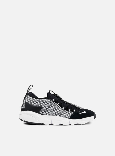 sneakers nike air footscape nm jcrd black white