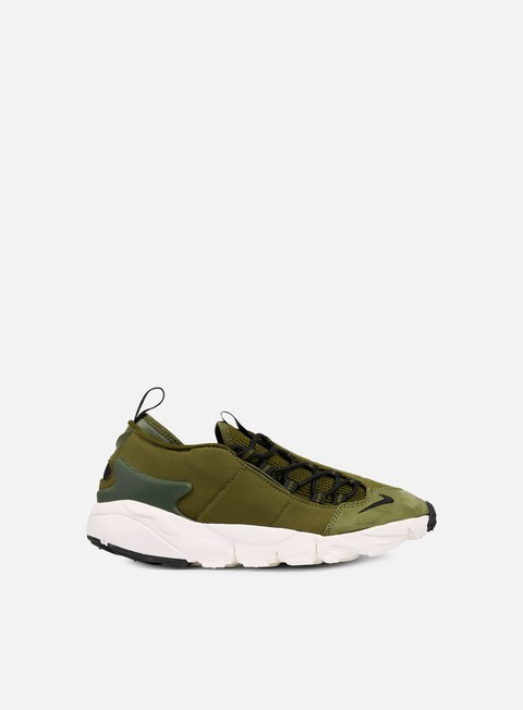sneakers nike air footscape nm legion green black