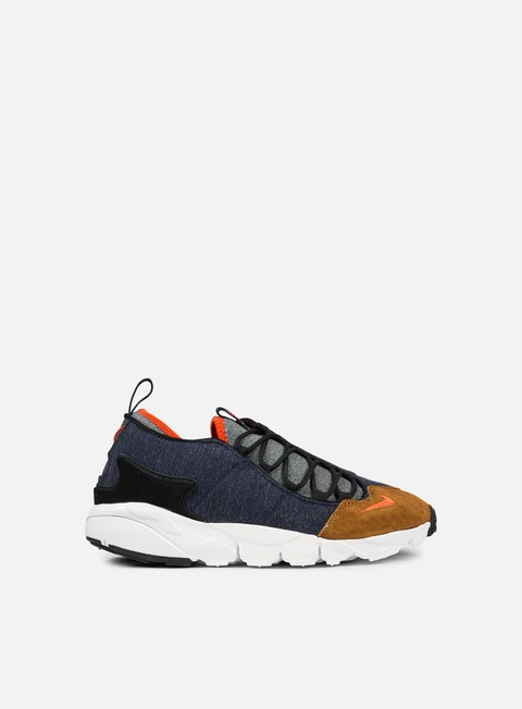sneakers nike air footscape nm obsidian team orange anthracite