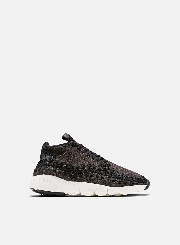 Nike - Air Footscape Woven Chukka SE, Black/Black/Ivory