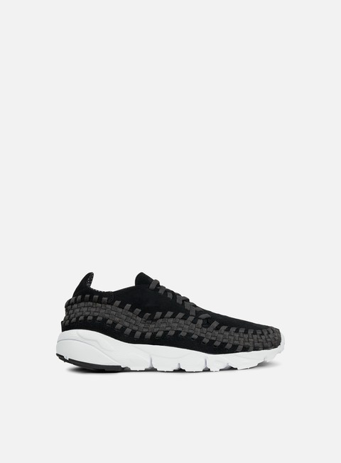 sneakers nike air footscape woven nm black black