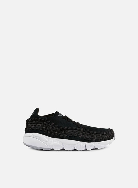 sneakers nike air footscape woven nm black dark grey