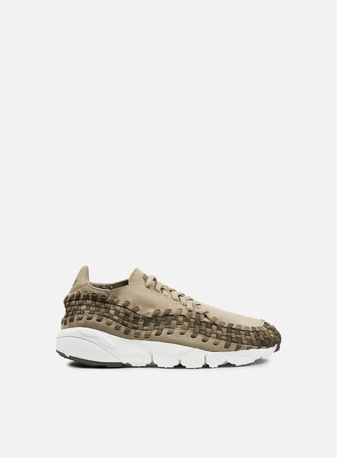 sneakers nike air footscape woven nm khaki medium olive cargo khaki