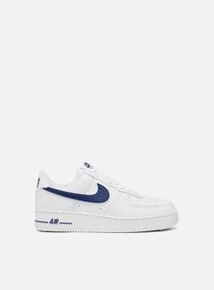 Nike - Air Force 1 07 3, White/Deep Royal