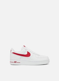 Nike - Air Force 1 07 3, White/Gym Red