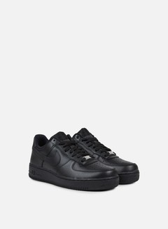Nike - Air Force 1 07, Black/Black 2