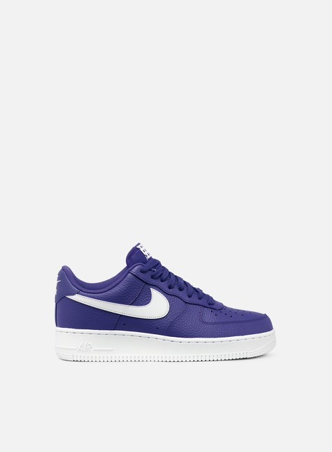 sneakers nike air force 1 07 blue recall white