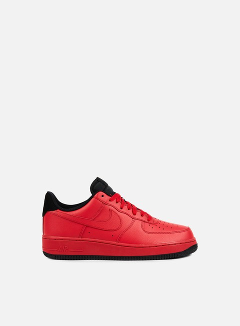 sneakers nike air force 1 07 gym red gym red black