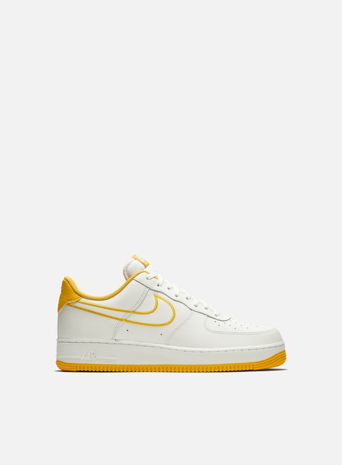 sneakers nike air force 1 07 lthr white yellow ochre
