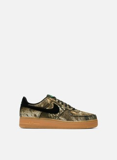 Nike - Air Force 1 07 LV8 3, Black/Black/Aloe Verde