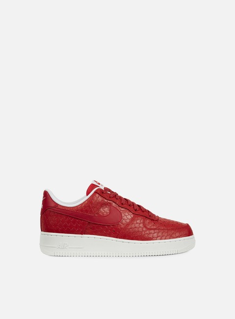 sneakers nike air force 1 07 lv8 action red action red summit white