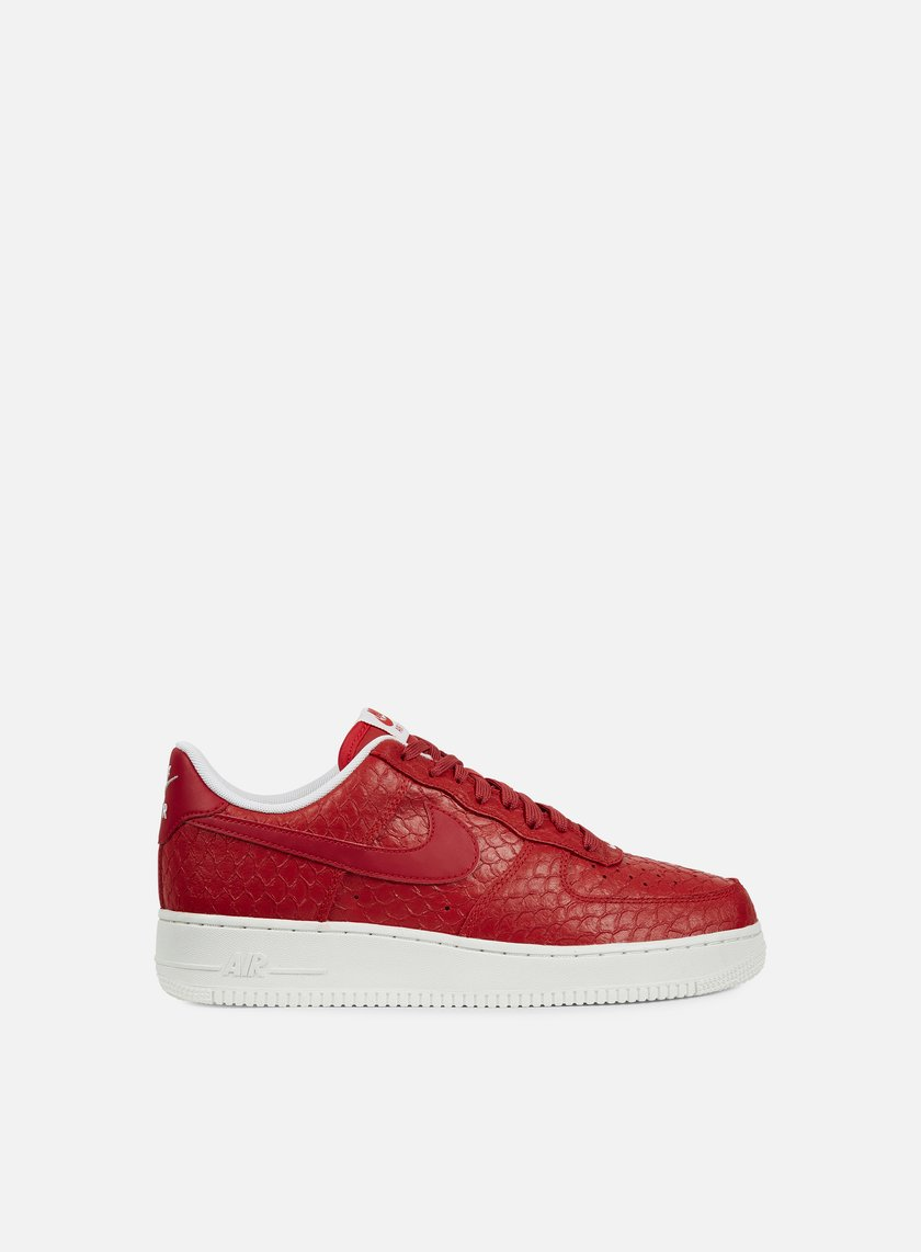 ... Nike - Air Force 1 07 LV8, Action Red/Action Red/Summit White ...
