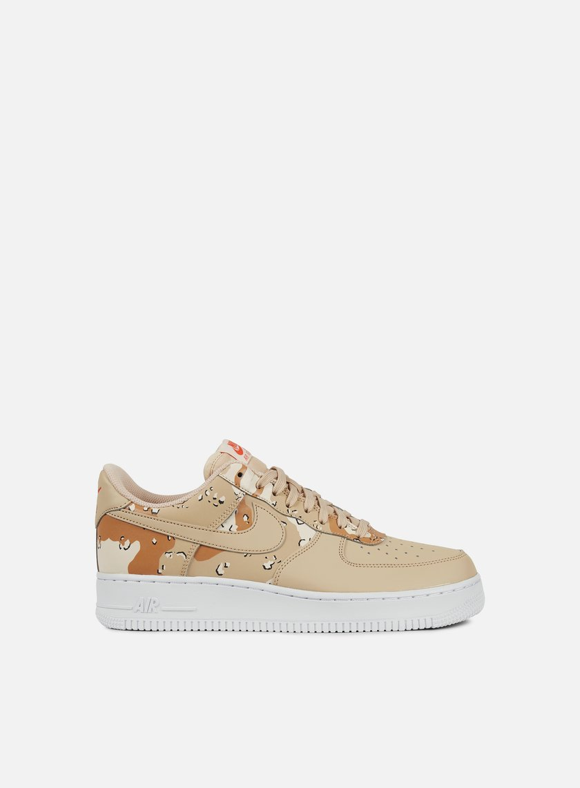 ... Nike - Air Force 1 07 LV8, Bio Beige/Bio Beige/Orange Quartz ...
