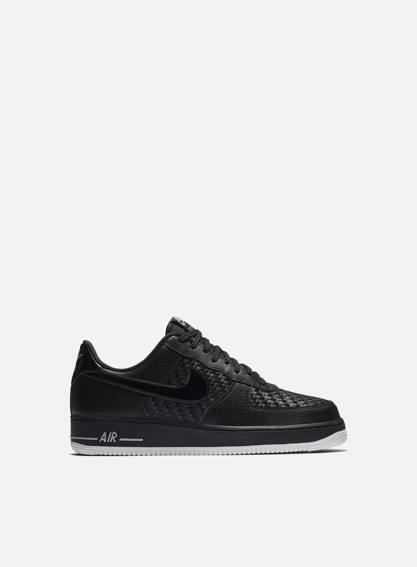 Nike - Air Force 1 07 LV8, Black/Black/Chrome
