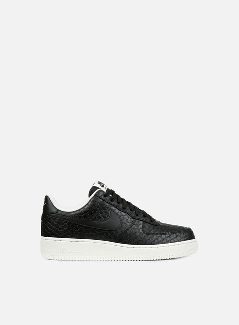 sneakers nike air force 1 07 lv8 black black summit white