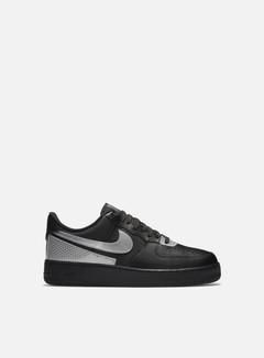 Nike - Air Force 1 07 LV8, Black/Metallic Silver/Black