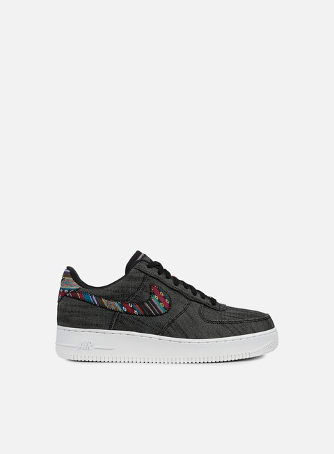 sneakers nike air force 1 07 lv8 black white