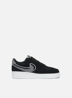 Nike - Air Force 1 07 LV8, Black/White/Cool Grey/White