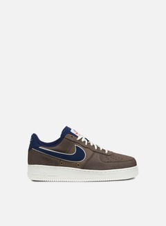 Nike - Air Force 1 07 LV8, Dark Mushroom/Binary Blue/Sail