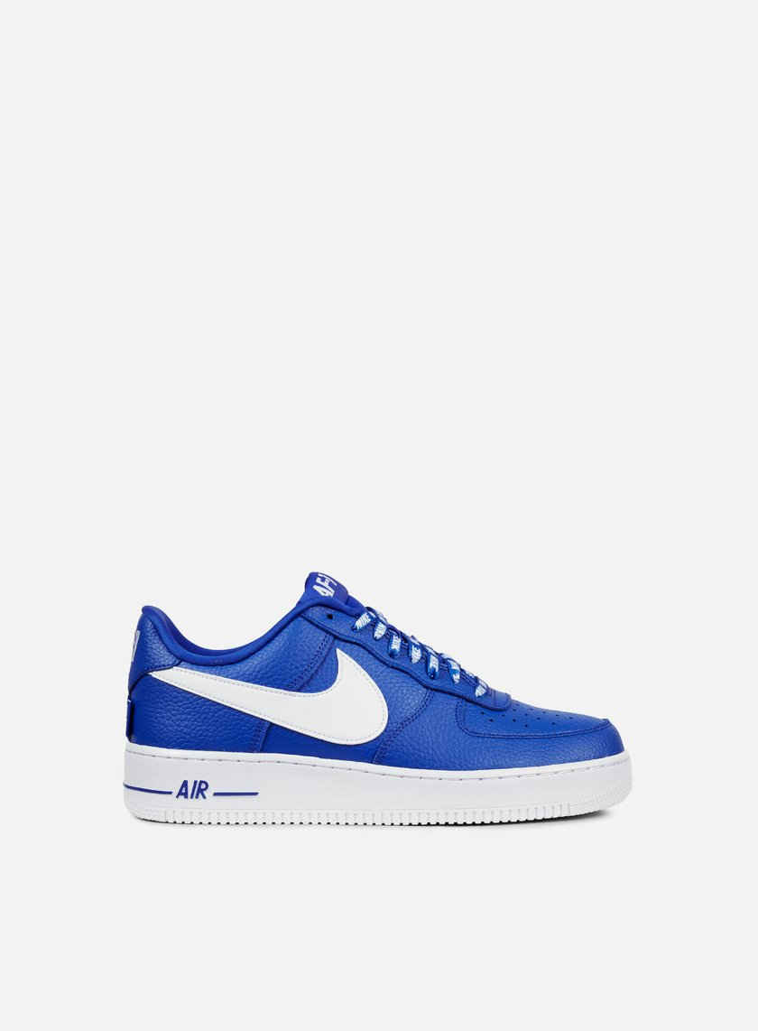 nike air force 1 low game royal/blackened blue-white industries