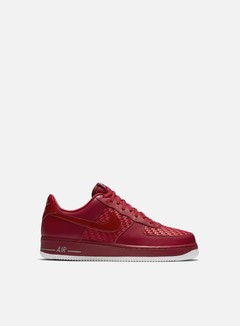 Nike - Air Force 1 07 LV8, Gym Red/Gym Red/Chrome