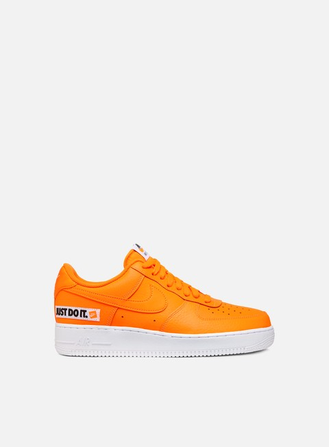 sneakers nike air force 1 07 lv8 jdi lthr total orange total orange