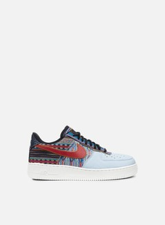 Nike - Air Force 1 07 LV8, Light Armory Blue/Gym Red