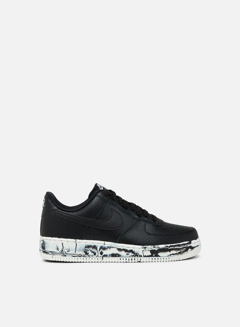 sneakers nike air force 1 07 lv8 lthr black black summit white