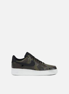 Nike - Air Force 1 07 LV8, Medium Olive/Black/Baroque Brown