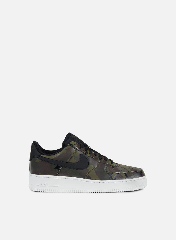 sneakers nike air force 1 07 lv8 medium olive black baroque brown