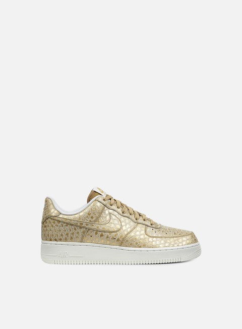 sneakers nike air force 1 07 lv8 metallic gold metallic gold summit white