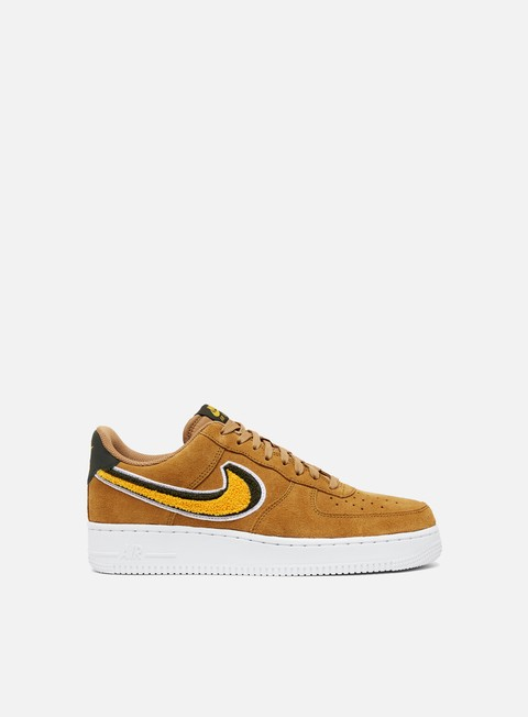 sneakers nike air force 1 07 lv8 muted bronze yellow ochre