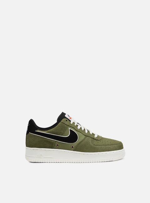 sneakers nike air force 1 07 lv8 palm green black sail